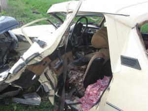 Moarte pe şosea: Doi morţi, după un cumplit accident rutier la Pătrăuţi