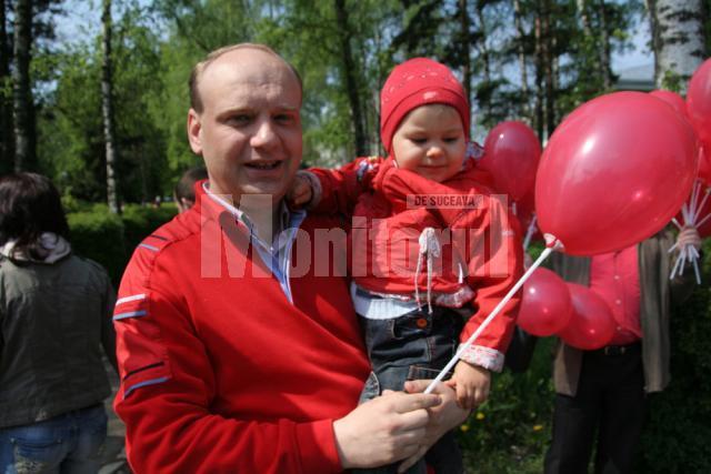 Ziua de 1 Mai, sărbătorită într-un mod aparte de candidatul PSD la funcţia de primar al municipiului Suceava, Ovidiu Donţu