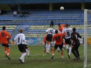 Meciul tur dintre Cetatea şi Juventus s-a jucat cu multă ambiţie