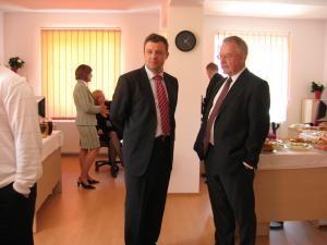 Marius Mihalec împreună cu directorul IMS MAXIMS, Brian Ennis