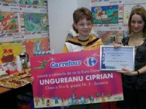 Ciprian Ungureanu, câştigătorul unei excursii la Paris