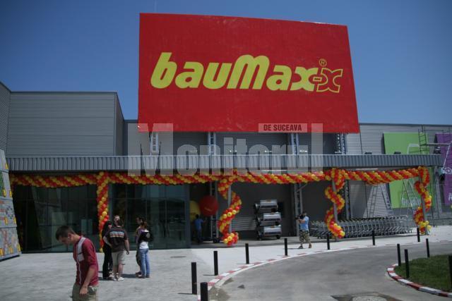 Investiţie austriacă: Cel mai mare magazin Baumax, inaugurat astăzi la Suceava