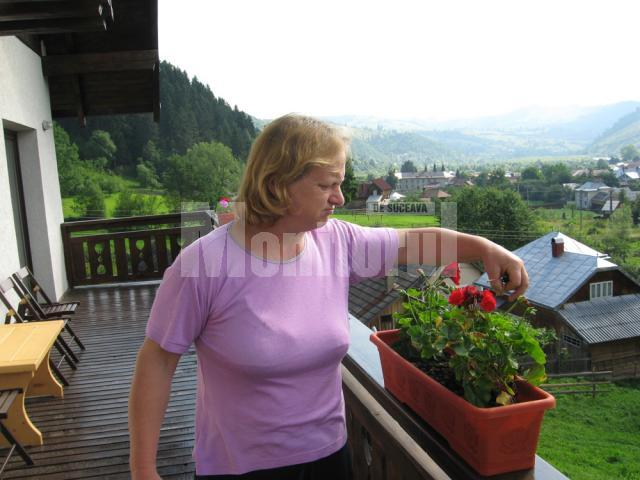 Administratorul pensiunii Bucovina Lodge, Aurelia Badale