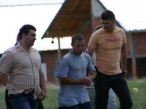 Maricel Brânză la reconsitituirea crimei de la Burdujeni