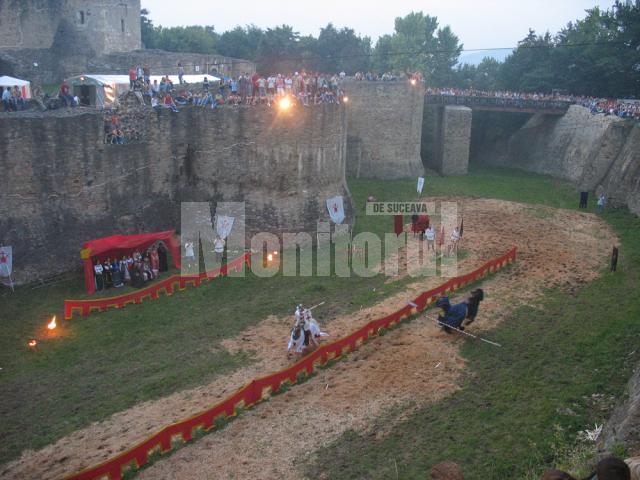 Pregătiri: Festivalul Medieval al Sucevei va dura o săptămână