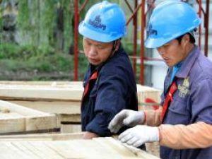 Doi dintre cei 19 chinezi care  lucrează la Iulius Mall