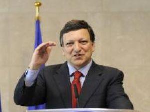 Jose Manuel Barroso îndeamnă România să accelereze reformele Foto: MEDIAFAX
