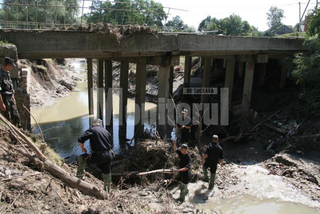 Pod de beton din raionul Hliboca, reconstruit în două zile