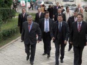 Candidaţii PSD au venit la BEJ încrezători în succesul lor