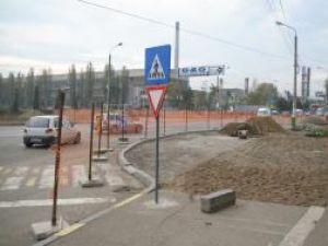 Lucrările de sistematizare rutieră au demarat deja în zona respectivă