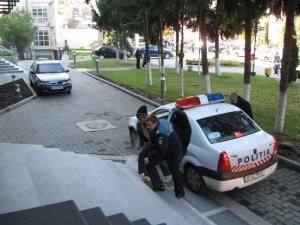 O noapte la arest: Doi suspecţi reţinuţi de poliţie, în cazul furtului antenei înalte cât două blocuri turn
