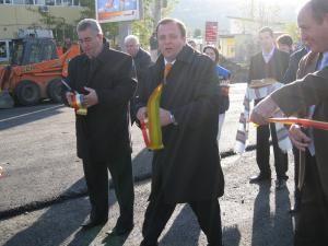 Alături de Gheorghe Flutur s-au aflat primarii de Suceava şi Şcheia, Ion Lungu, respectiv Vasile Andriciuc