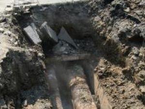 Avariile pe traseul magistralei II au lăsat trei din cele mai mari cartiere ale Sucevei fără căldură şi apă caldă