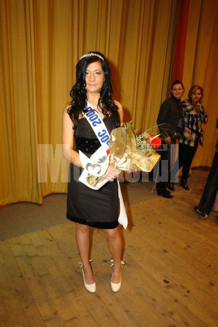 """Loredana Dumitru, Miss Boboc al Colegiului Tehnic """"Petru Muşat"""""""