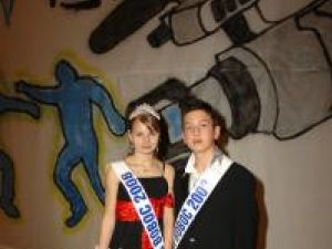 Alina - Cristina Cofler şi Lucian Dodan, Miss şi Mister Boboc
