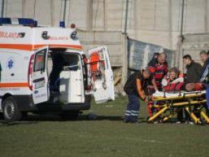 Accidentarea lui Bursuc a creat emoţii în tabăra sucevenilor