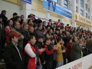 Sala LPS va fi plină la meciul de duminică, cu italienii de la United Bologna