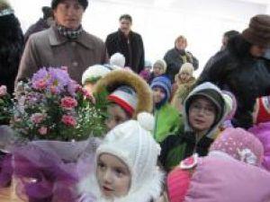 Preocupare: Prima grădiniţă modernă din Obcini a fost inaugurată miercuri