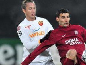 AS Roma s-a impus la Cluj fără să impresioneze prin nimic