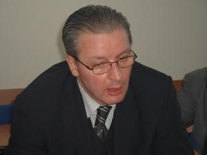 Eugen Constantin Uricec a votat la secţia de votare la care este arondat