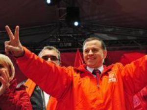Preşedintele PSD, Mircea Geoană: Este cel mai bun scor din istoria partidului. Foto: MEDIAFAX