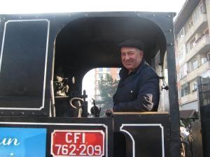 """Ioan Popescu: """"Toată lumea îmi cere să fac fum şi să ţipe trenul"""""""