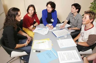 Terapia de grup este la fel de eficientă în combaterea depresiei ca şi medicamentele Foto: IMAGEBROKER