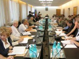 Consiliul judeţean a aprobat cu unanimitate de voturi, ieri, în şedinţă extraordinară, rectificarea bugetului propriu al judeţului