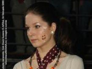"""Diana Maloş, cu puţin timp  înainte de a câştiga """"Miss Vacanta 2008"""""""