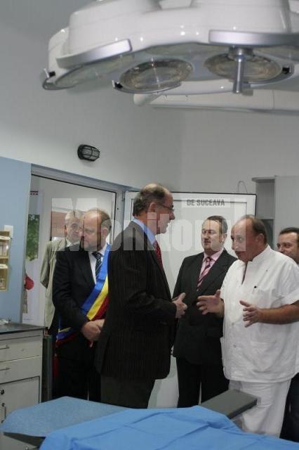 Inaugurarea a cinci săli de operaţie complet renovate şi nou echipate prin sprijinul acordat de grupul EGGER