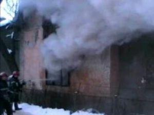 Intervenţia promptă a pompierilor a dus la limitarea pagubelor