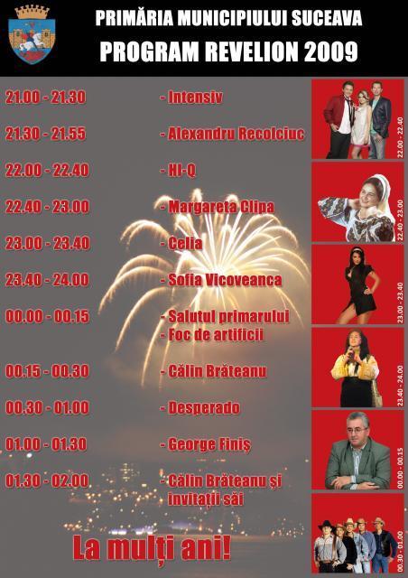 Anul nou: Revelion în centrul Sucevei, cu HI-Q, Celia şi Desperado