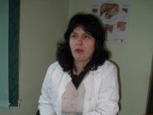 Gabriela Prepeliuc are 40 de ani şi lucrează ca medic de familie în comuna Pătrăuţi