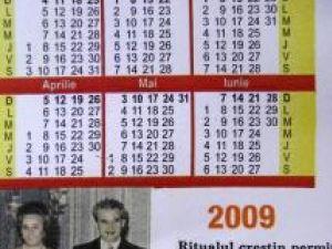 Câmpulung: Calendare cu Ceauşescu pentru publicitate politică