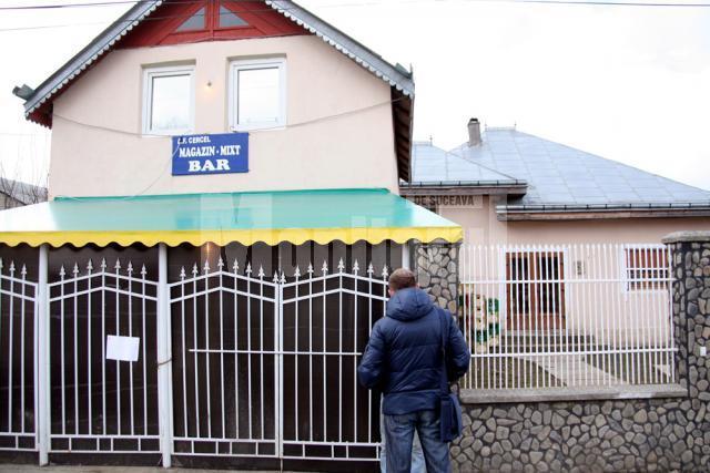 Locuinţa din Vadu Moldovei, unde s-a petrecut tragedia