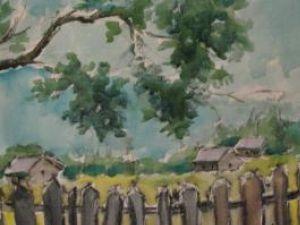 Peisaj din Bucovina de Radu Bercea