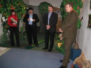 Deschiderea expoziţiei de la Muzeul de Ştiinţele Naturii