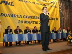 Şedinţa de alegeri a PNL Suceava a fost condusă de prim-vicepreşedintele PNL Ludovic Orban