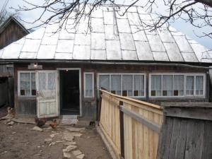 Casa bătrânei de 81 de ani, omorâtă de propriul câine