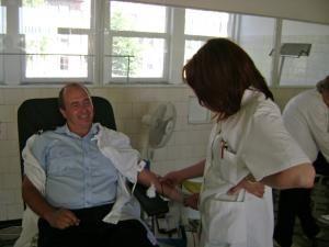 Umanitar: Pompierii au demarat o campanie de donare de sânge
