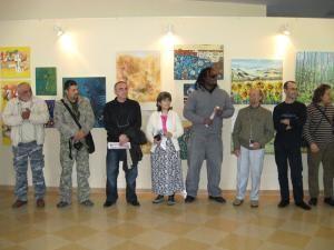 Artişti străini expozanţi în Galeria de Artă din Rădăuţi