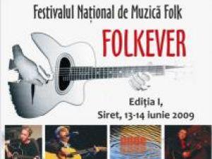 Festival naţional: Două zile de folk, la Siret