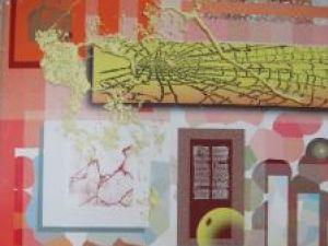 Red Life - digital collage de Cristina Lauric