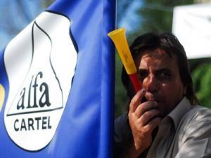 Grevă la nivel naţional, organizată  de CNS Cartel Alfa. Foto: MEDIAFAX
