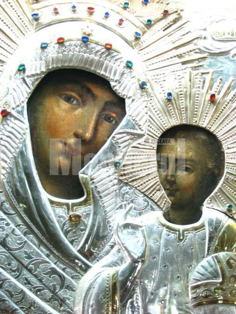 Icoana Maicii Domnului de la Mănăstirea Rarău