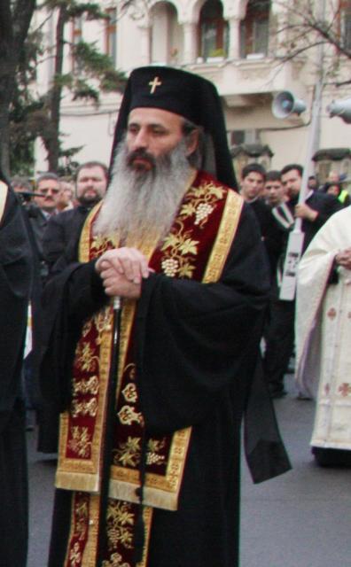 ÎPS Teofan vine la hramul Sucevei. Foto: MEDIAFAX