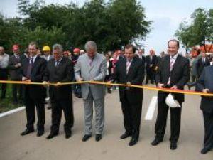 """La Suceava,: Videanu a inaugurat prima """"autostradă electrică"""" din România, construită de Transelectrica"""