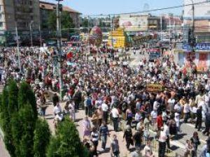 20.000 de pelerini au participat, în acest an, la Hramul Sucevei