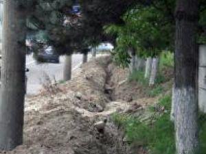 Lucrări ISPA: Strada Zorilor, închisă de luni circulaţiei rutiere