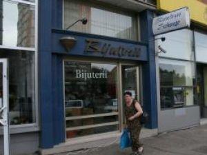 Magazinul de bijuterii din centrul municipiului Suceava